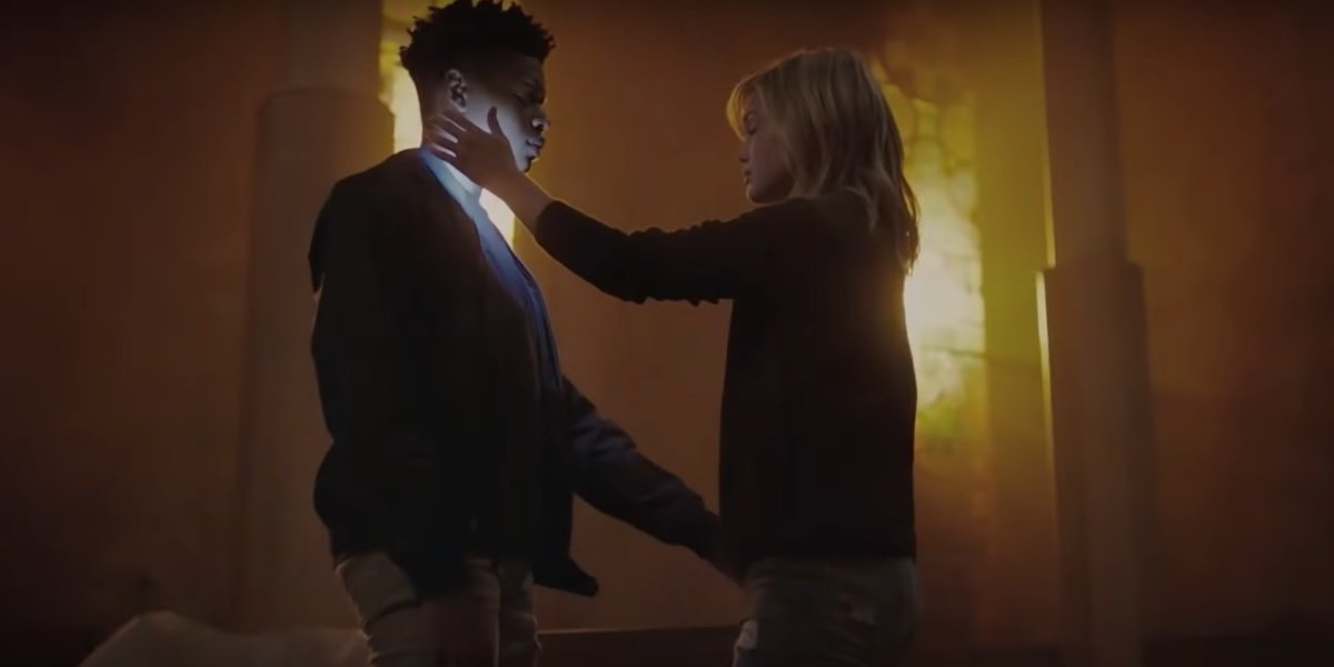 Olivia Holt and Aubrey Joseph in Marvel's Cloak and Dagger