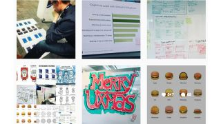 UX/UI Instagram posts
