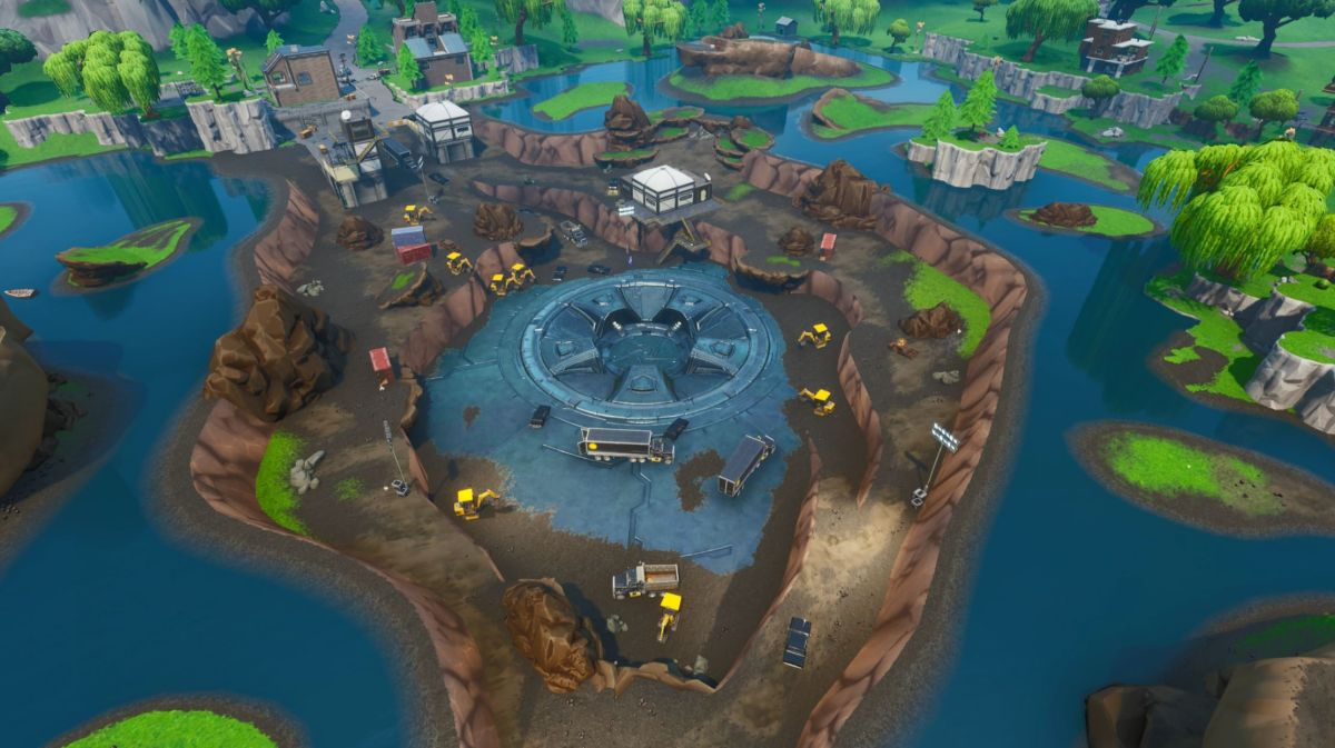 Fortnite: Strange runes connected to the Loot Lake vault