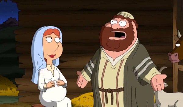 Mary and Joseph Family Guy Fox