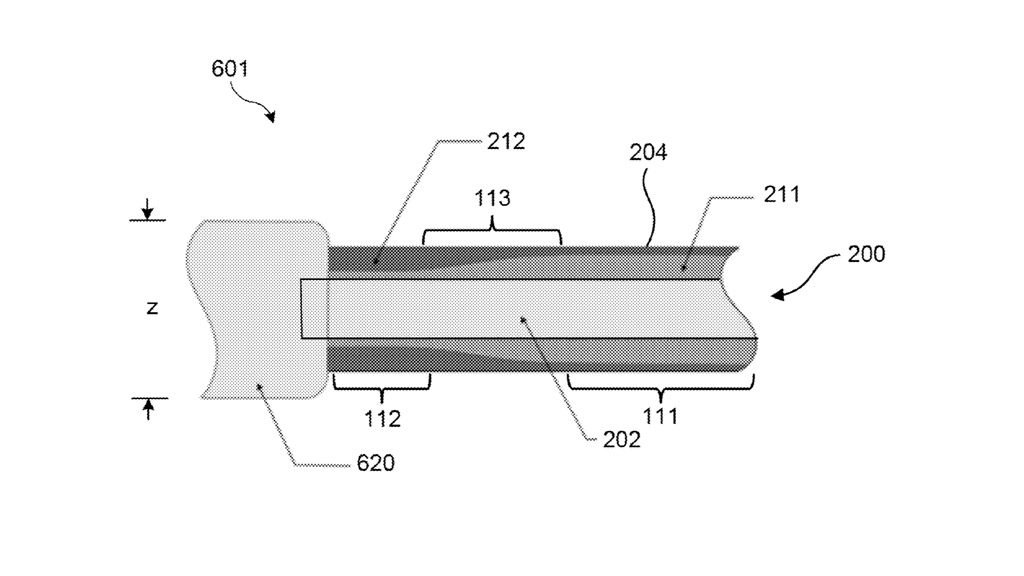 A diagram showing Apple's proposed cable