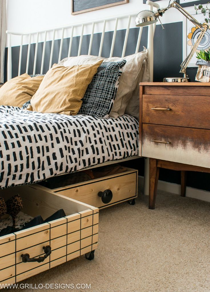 Be inspired by our ideas for bedroom storage