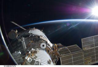 ISS Sunrise