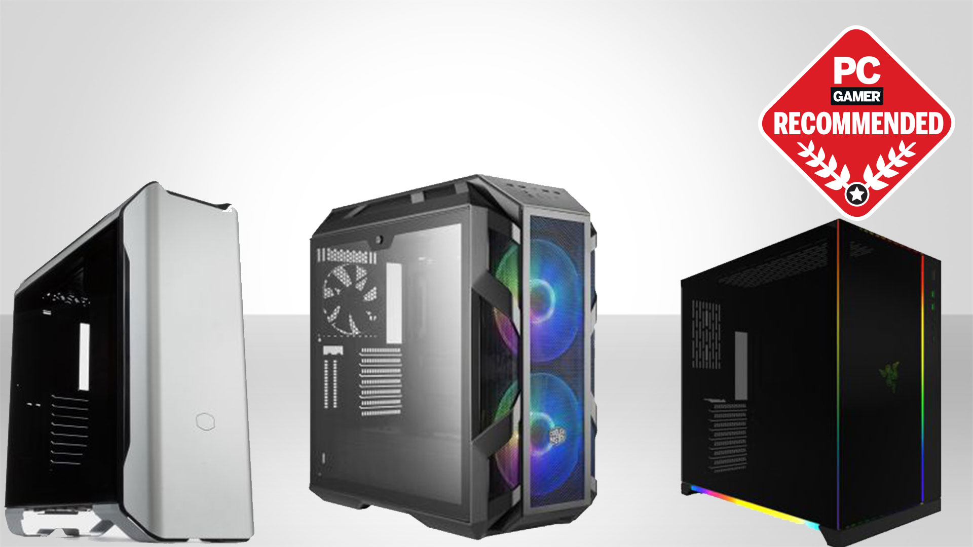 NZXT H500 Compact ATX Mid-Tower PC Gaming Case All-St Tempered Glass Panel