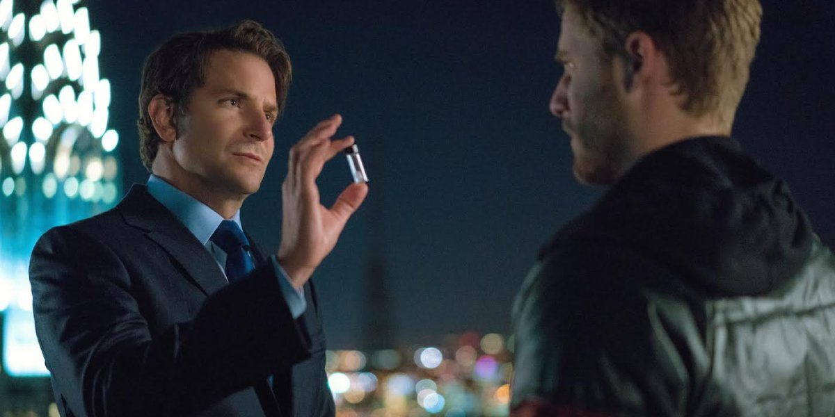 Bradley Cooper and Jake McDorman on Limitless