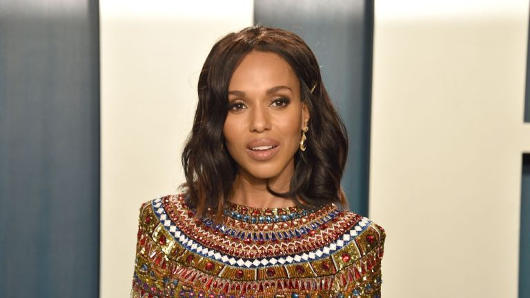 Kerry Washington attends the 2020 Vanity Fair Oscar Party at Wallis Annenberg Center for the Performing Arts on February 09, 2020 in Beverly Hills, California.