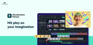 Wondershare Filmora X Press play on your imagination