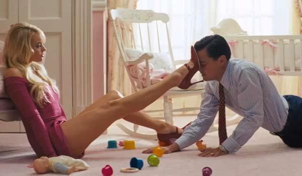 Margot Robbie Sex Scene in The Wolf of Wall Street