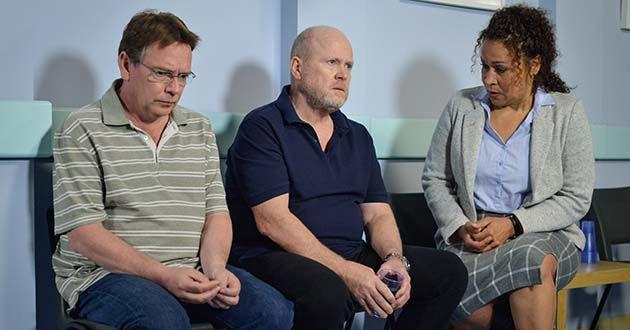 Phil Mitchell, Ian Beale, DC Angie Rice