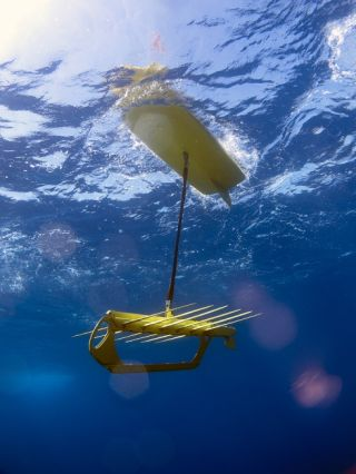 ocean surface monitor drone