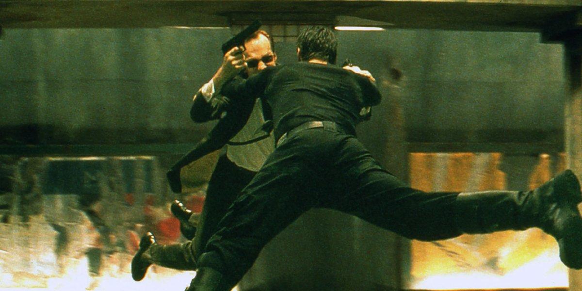 The Matrix subway fight