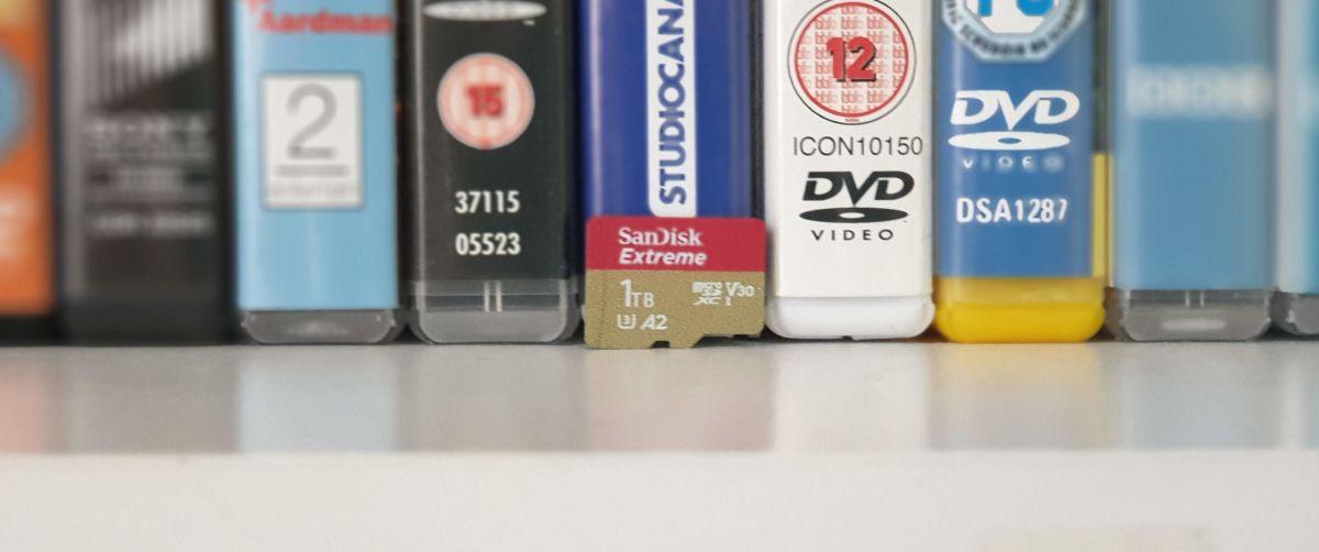 Sandisk Extreme 1TB microSDXC card