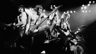 UFO onstage in 1980