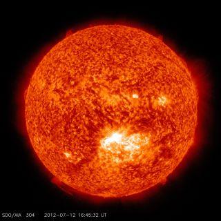 X-14 Solar Flare