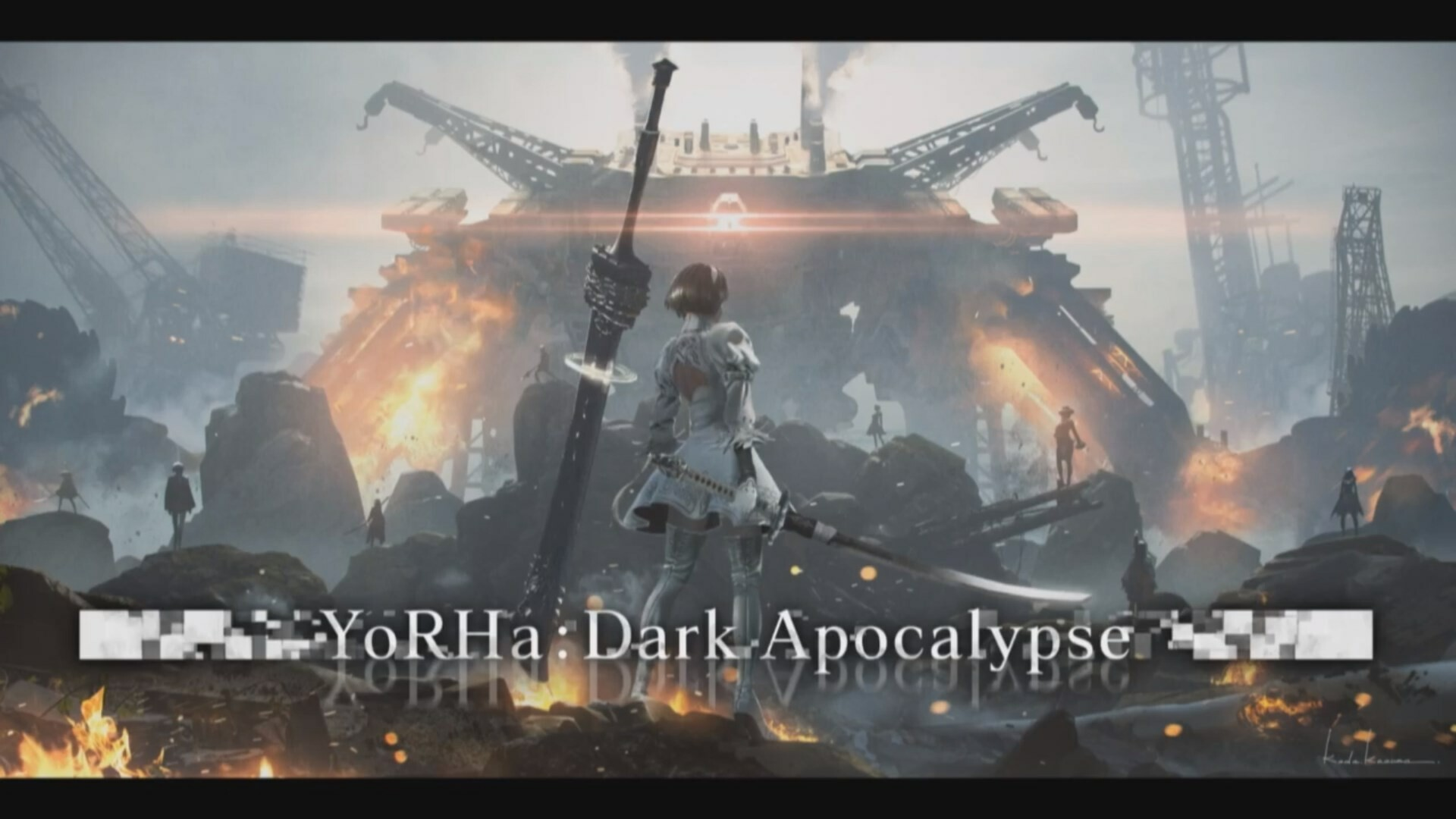 Image result for Yorha: The Dark Apocalypse