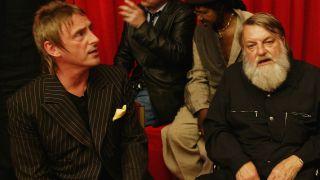 A picture of Paul Weller and Robert Wyatt