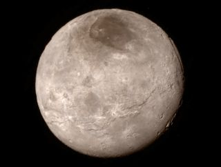 Red Pole on Charon