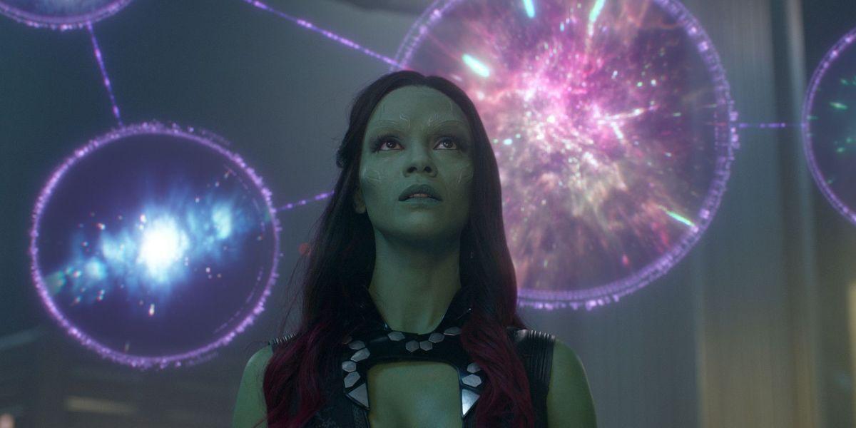 James Gunn Shares Horrifying Guardians Of The Galaxy Set Photo With Gamora Masks