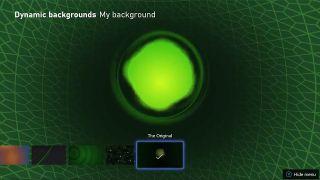 Xbox's 'The Original' Dynamic Background
