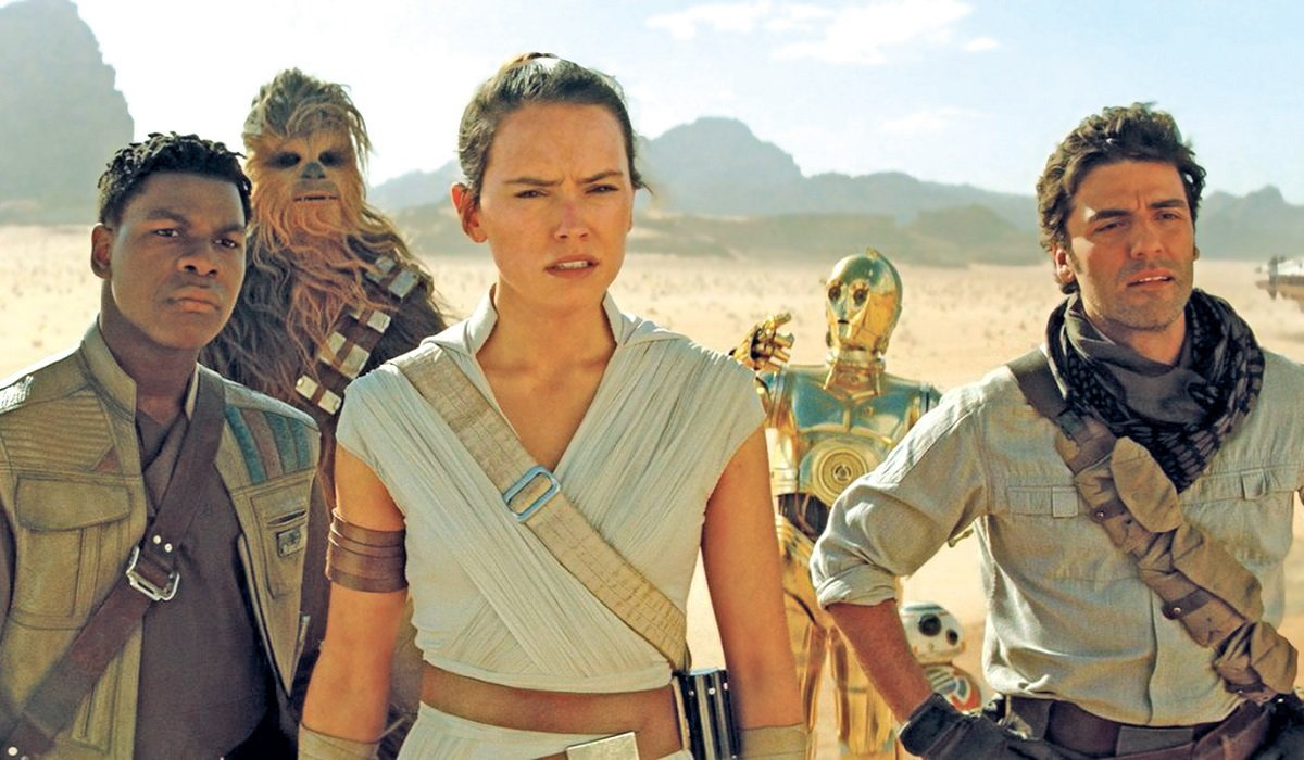 Rey Poe Finn Chewbacca C-3PO BB-8 Star Wars