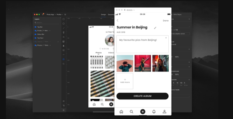 Wireframe tools: UXPin