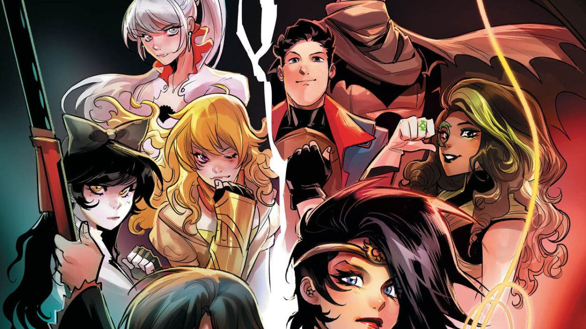 Rooster Teeth hit RWBY crossing over with the Justice League