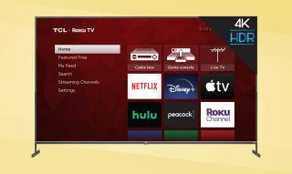 TCL 4-Series Roku TV 85S435