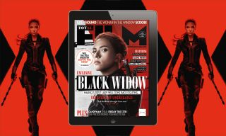 Total Film's digital edition, featuring Black Widow