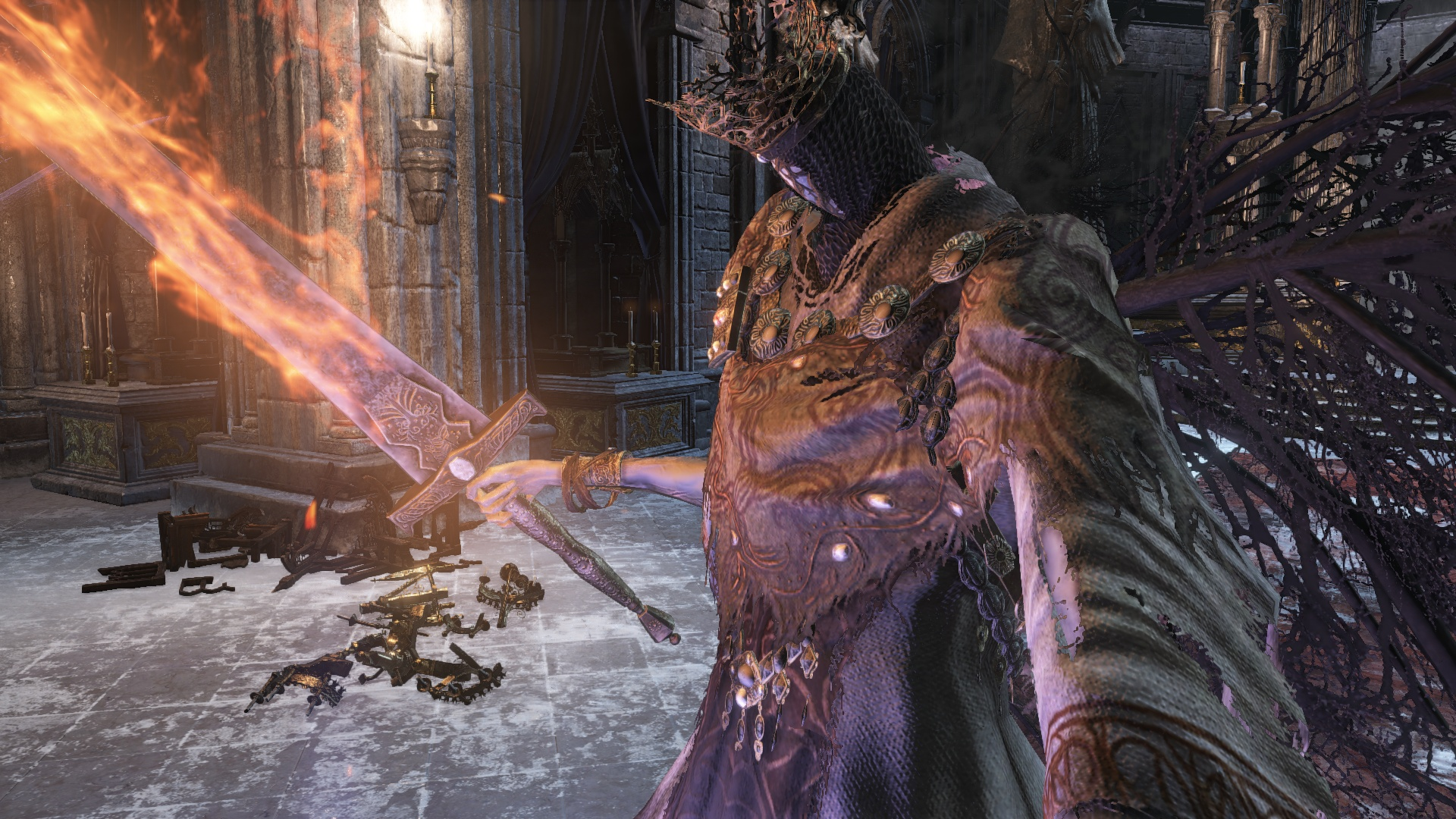 Dark Souls 3 Cut Content Suggests Pontiff Sulyvahn Was Once The