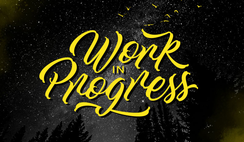 Calligraphy fonts: Work in Progress