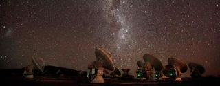 Astronomers at the Atacama Large Millimeter/submillimeter Array (ALMA) Observatory in Chile observed the stellar wind circling two dying red giant stars and concluded that they seem to shed so much gas because they're actually part of a binary star system.