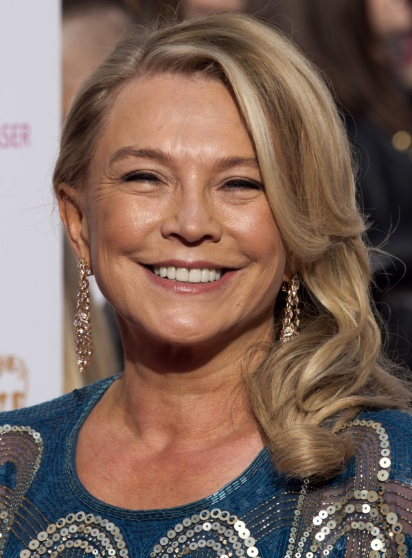 Amanda Redman at the TV Baftas in May 2015