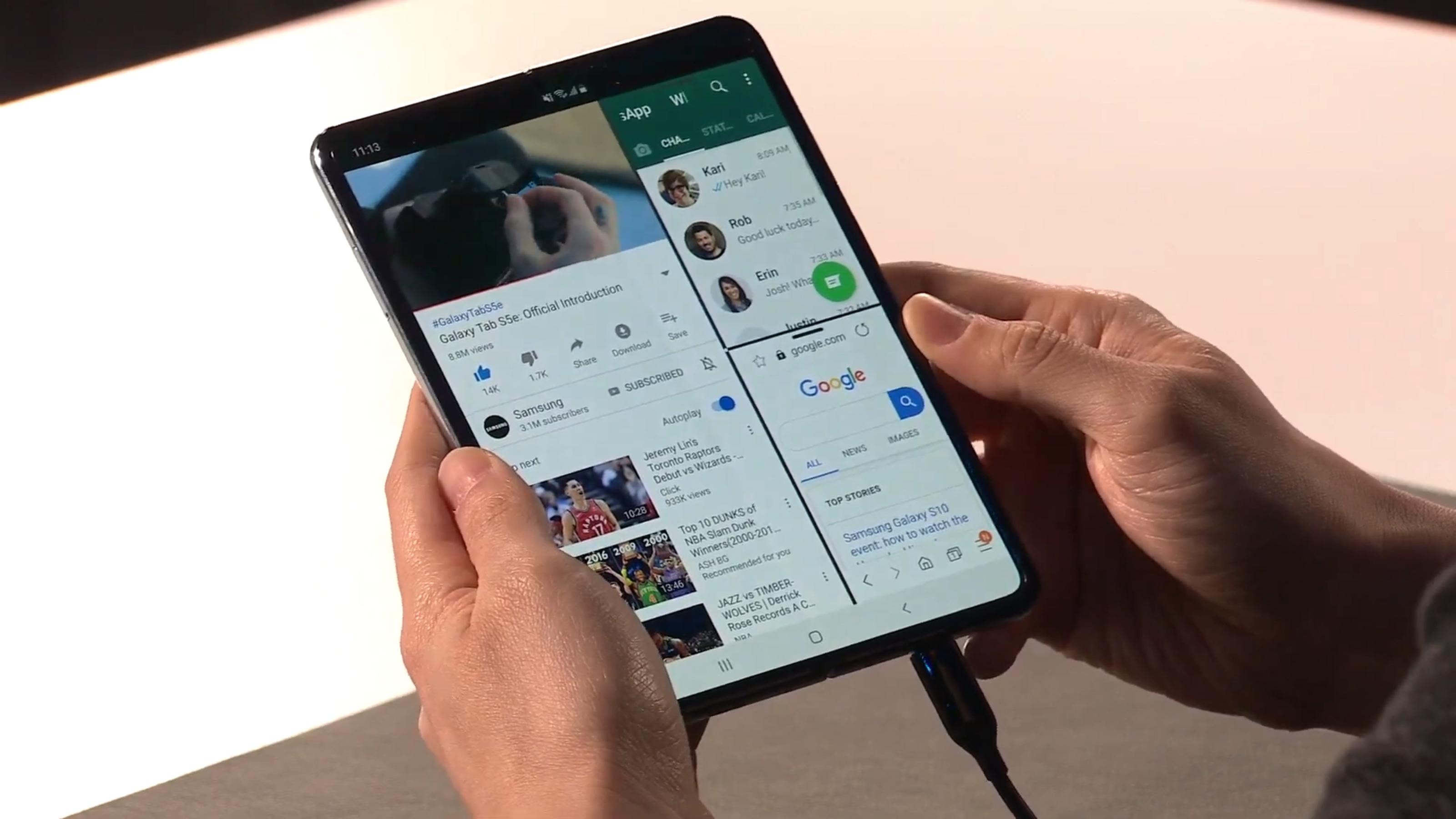The Samsung Galaxy Fold is the future of smartphones   TechRadar