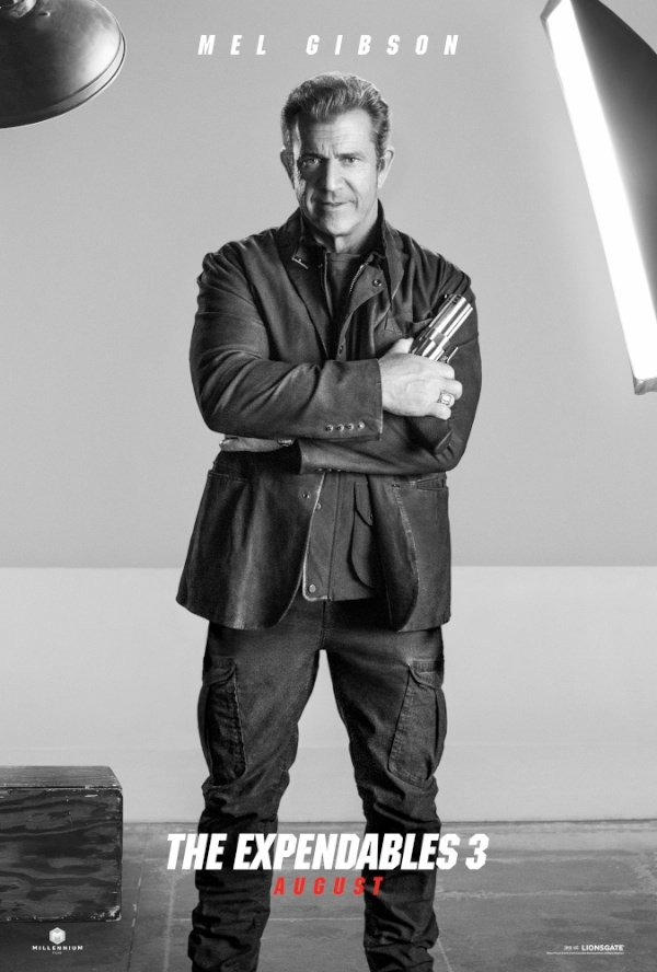 The Expendables 3 Mel Gibson