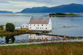 Melbu - Norway - wielrennen - cycling - cyclisme - radsport - illustration - sfeer - illustratie pictured during 7th Arctic Race of Norway (2.HC) stage 3 from Sortland to Storheia Summit (Melbu) (176.5KM) - photo SWPics/Cor Vos © 2019