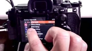 FINALLY, Sony fixed the camera menus!!!
