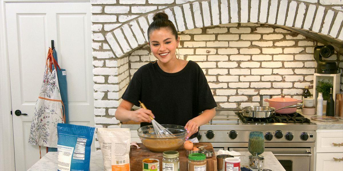 Selena Gomez in Selena + Chef on HBO Max.