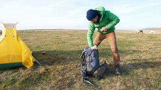 What to take thru-hiking