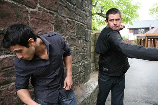 Caleb punches Ravi!