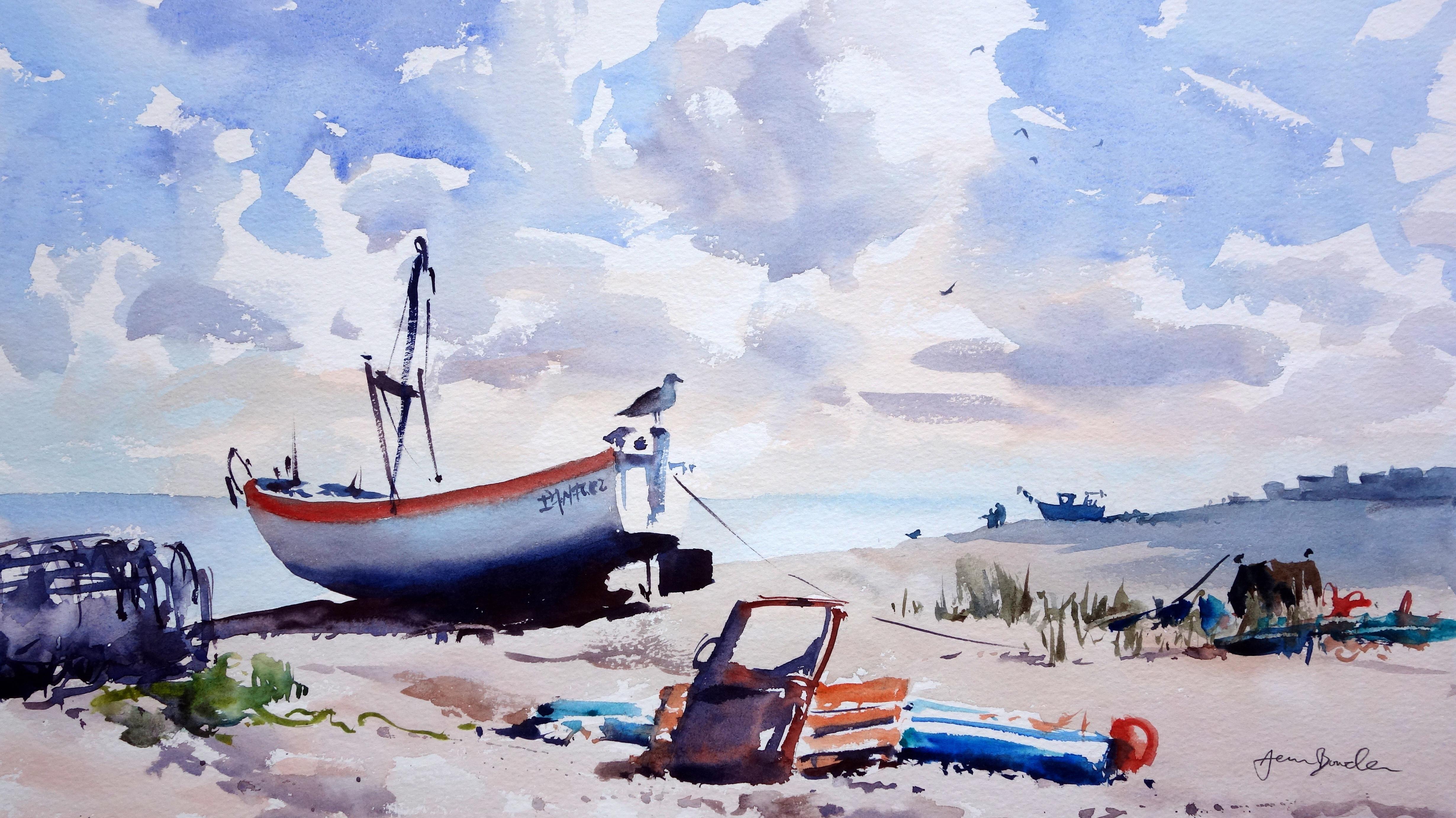 Painting A Watercolor Landscape