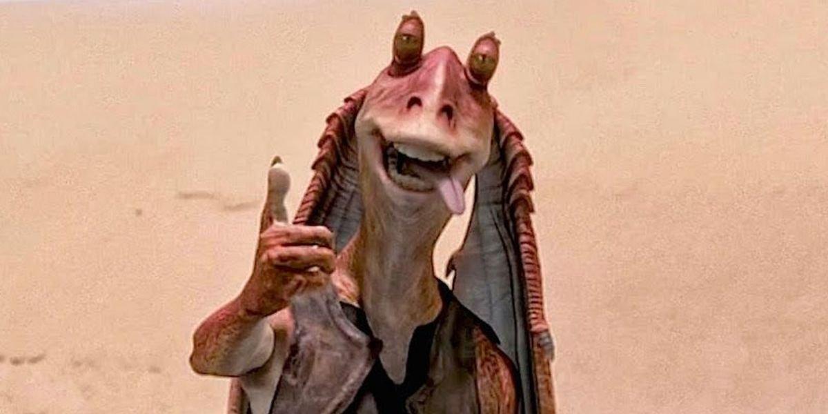 Jar Jar Binks in Star Wars: Episode I – The Phantom Menace