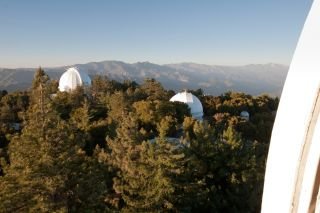 Mount Wilson Telescope Domes