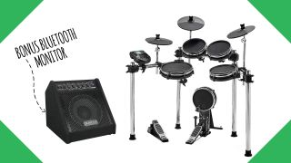 Save $260 with this Alesis Surge Mesh e-kit and Simmons Bluetooth monitor bundle – just $549 for today only