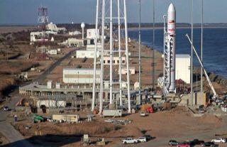 Antares Rocket on Pad