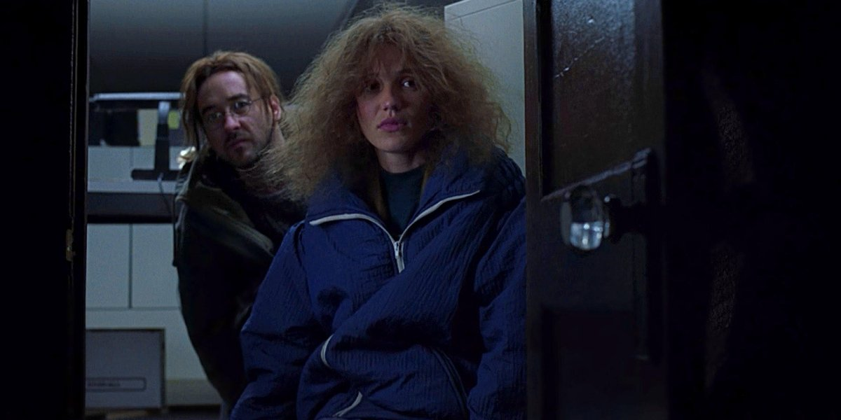 John Cusack and Cameron Diaz in Being John Malkovich