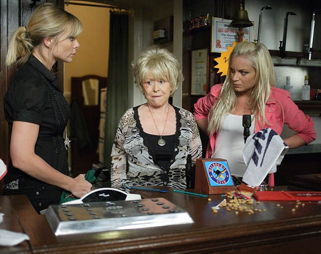 Peggy, Roxy, Ronnie Michell EastEnders