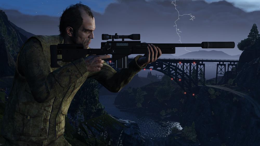 GTA 5 PC Screenshots Show Off Updated Graphics #32607