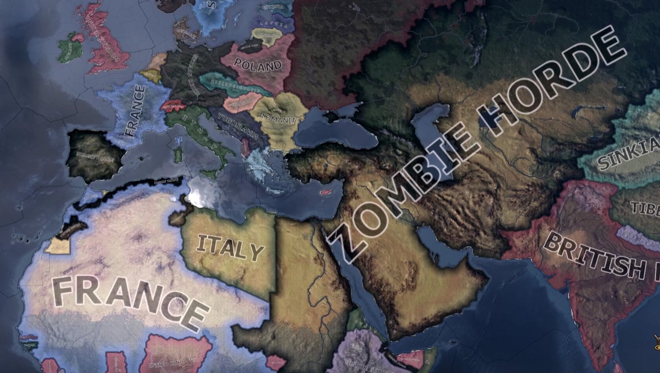 Infection mod brings zombie hordes to Hearts of Iron 4 | PC