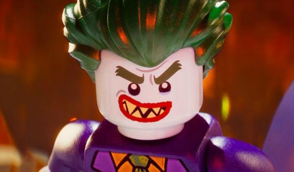 Lego Joker smiling