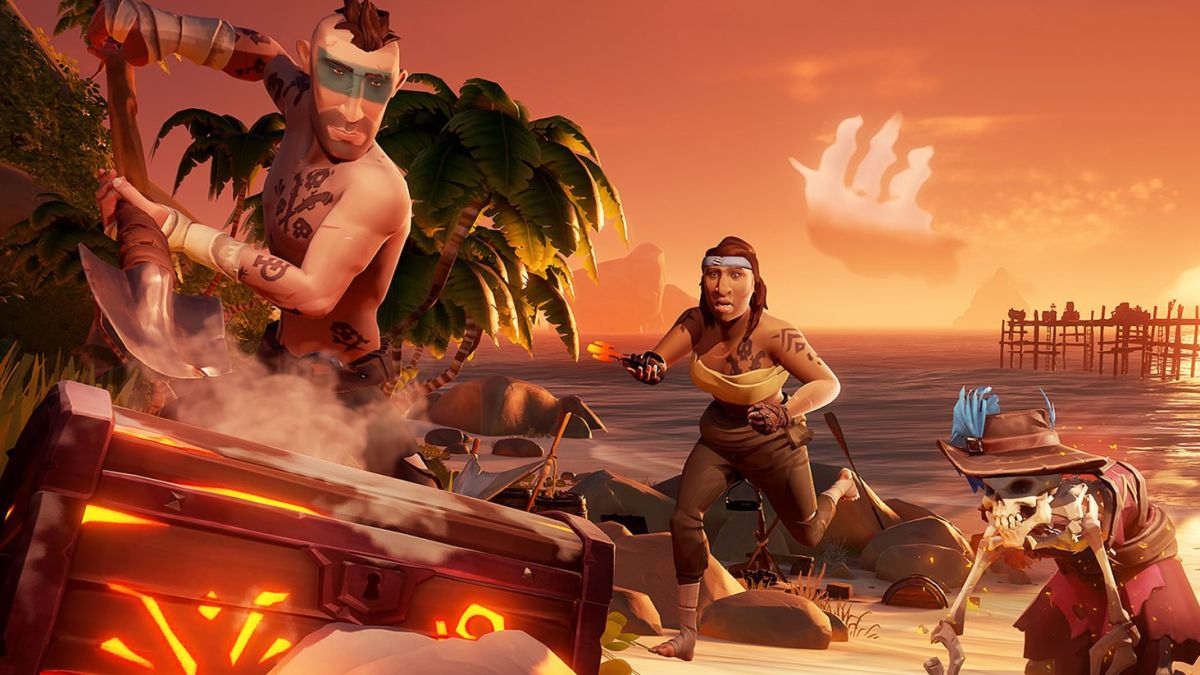 Sea of Thieves update makes opening Ashen Chests much easier